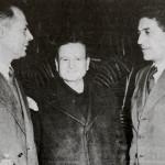 Giuseppe Di Vittorio, Achille Grandi e Oreste Lizzadri