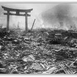 Hiroshima dopo l'esplosione della bomba atomica